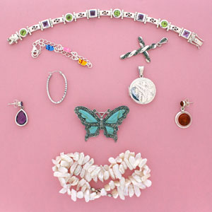 silver jewellery logo